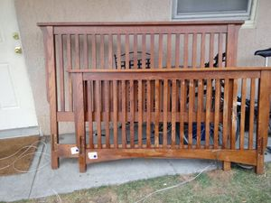 Bassett queen bed frame for Sale in Pasco, WA