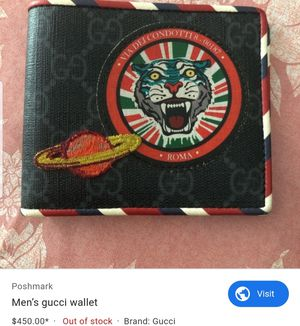 Men's gucci wallet for Sale in Pomona, CA