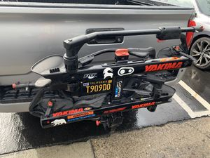 """Yakima Hold up 2 bike rack 1.25 to 2""""hitch for Sale in Mission Viejo, CA"""