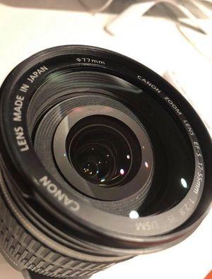 Canon 17-55 mm lens for Sale in Miami, FL