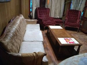 Antique furniture chairs $60.00 with ottoman table $20.00 for Sale in Oak Park, IL