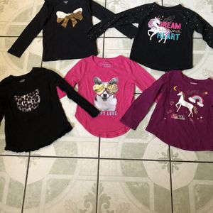 4T Old Navy Toddler Girl Long Sleeve Shirt for Sale in Riverside, CA