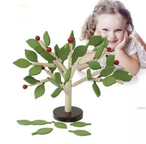 Wooden Tree Puzzle Toy Assemble Leaves Inserted Educational Toy Montessori for Sale in Coral Springs, FL