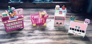 Large Lot of Shopkins's, and Lil Shoppies Happy House Special Edition Accessories, and More! for Sale in Mt. Juliet, TN