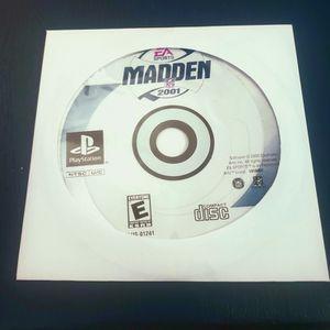 Madden 2001 (PS1) for Sale in Phoenix, AZ