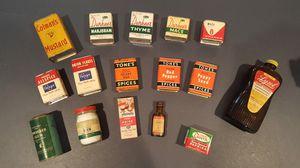 Antique spice tins for Sale in Ypsilanti, MI