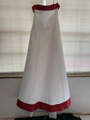 Ivory/Apple Red Wedding Dress for Sale in Crestview, FL