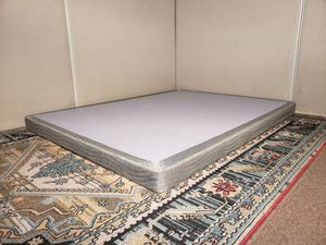 Queen boxspring - DELIVERY available for Sale in San Jose, CA