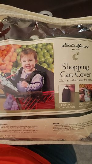 Eddie bauer shopping cart cover for Sale in Saint Clairsville, OH