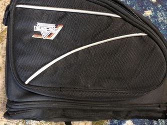 Motorcycle Tail Bag With Rain Cover for Sale in Salem,  OR