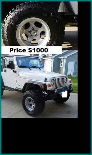 $1000 Jeep Wrangler for Sale in Frederick, MD
