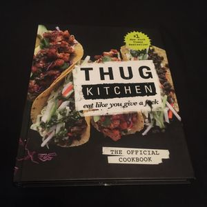 THUG KITCHEN COOKBOOK *brand new/out of print* Vegan Plant-Based for Sale in Montebello, CA