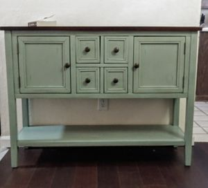 Gorgeous Rustic Wood Console Table Entry Table Cabinet for Sale in Phoenix, AZ