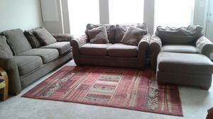 Sofa, loveseat, chair and ottoman for Sale in Middletown, MD
