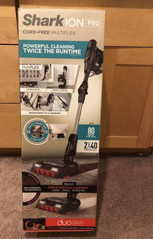 Shark Ion F80 Cord Free Multiflex Vacuum for Sale in North Springfield, VA