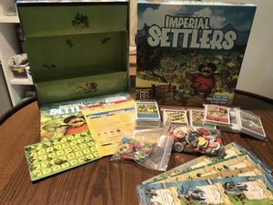Imperial Settlers with expansions, strategy board game for Sale in Winter Park, FL