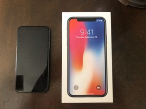 iPhone X 256gb Factory Unlocked for Sale in Orlando, FL