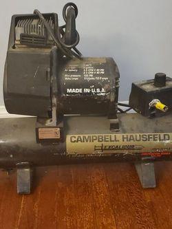 OEM Campbell Hausfeld Excalibur Air Compressor Contractor Series 125 PSI for Sale in Santa Ana,  CA