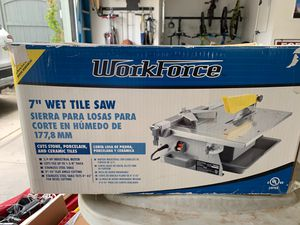 """7"""" Wet Tile Saw for Sale in Tracy, CA"""