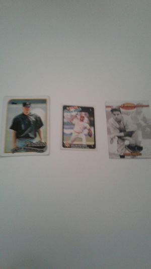 Baseball 3 cards( 1 Venezuela and 2 Usa) for Sale in Laurel, MD