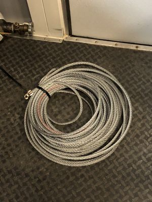 Cable winch line for Sale in Beaumont, CA
