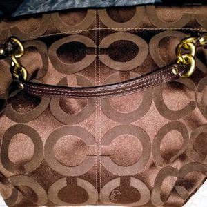 Coach Bag With Dust Bag Like Brand New for Sale in McDonough, GA