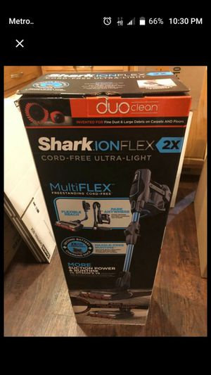 Shark Vacuum and Steam Mop BUNDLE! for Sale in Riverside, CA