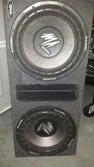 "MA audio 12"" subs for Sale in Las Vegas, NV"