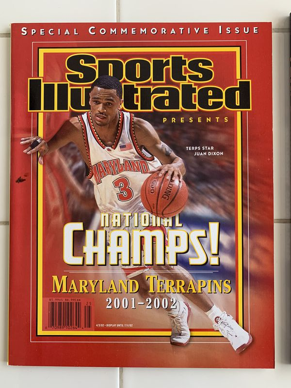 Maryland Terrapins National Champs Sports Illustrated & Book