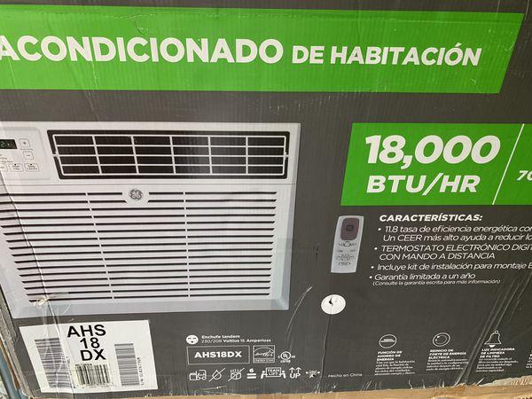 New Air conditioner 18,000 btu