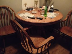 Kitchen table 2 for Sale in Indianapolis, IN