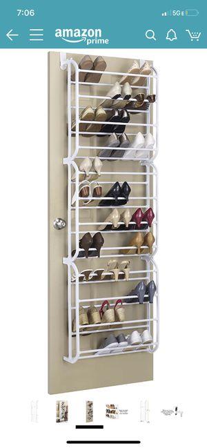 Door shoe racks 36 pair (2) for Sale in Seattle, WA
