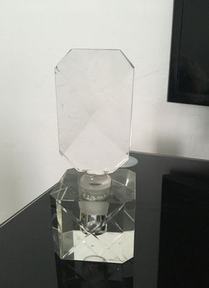 Antique crystal perfume bottle for Sale in Delray Beach, FL