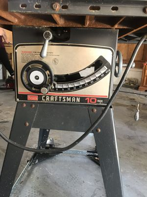 10 inch table saw for Sale in Columbia, MD