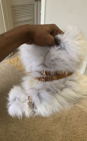 Moschino Fur Boots for Sale in Tampa, FL