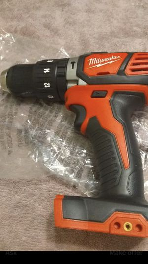 """Milwaukee 1/2"""" 18 volts HAMMER DRILL M18 NEW for Sale in Los Angeles, CA"""