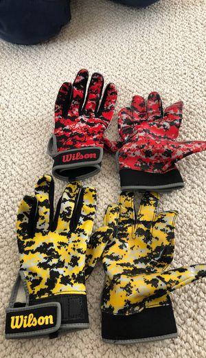 Wilson sticky gloves for Sale in Mill Creek, WA