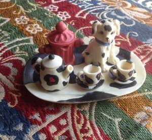 Vintage mini tea set for Sale in Fresno, CA