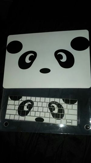 Panda bet laptop case and keyboard cover for Sale in Saint Albans, WV