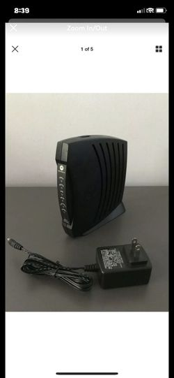Motorola SURFboard SB5101 Wireless Router Cable Modem for Sale in Carlsbad,  CA