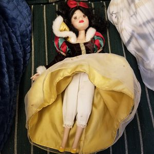 Snow white porcelain doll for Sale in Lincoln Park, MI