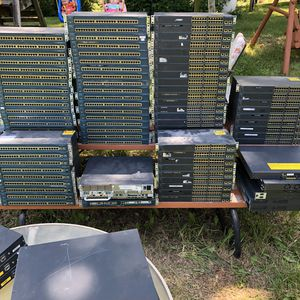 $10 EACH - Cisco Catalyst Business Class Network Switches & Routers for Sale in Bonner Springs, KS