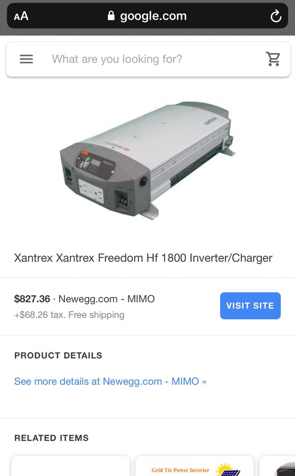 Power inverter/charger
