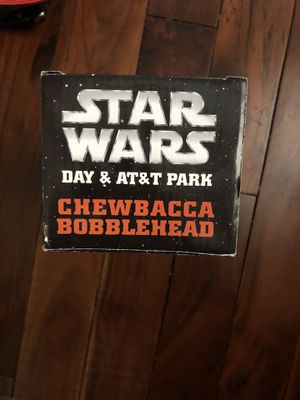 San Francisco Giants • Star Wars Day • Chewbacca bobblehead for Sale in San Jose, CA