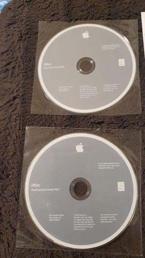 iMac - Mac OS Install DVD for Sale in Anaheim, CA