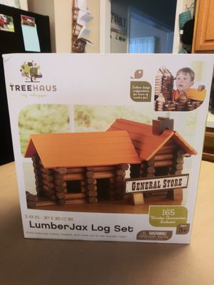 Lumber jax log set for Sale in Charlotte, NC
