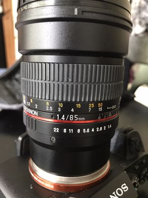 85 mm 1.4 Sony e-mount prime lens for Sale in League City, TX