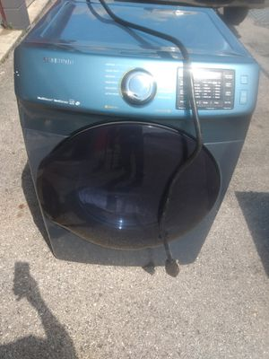 Samsung multisteam dryer works good heavy duty large capacity {contact info removed} for Sale in Washington, DC