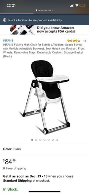 Baby high chair for Sale in Bakersfield, CA
