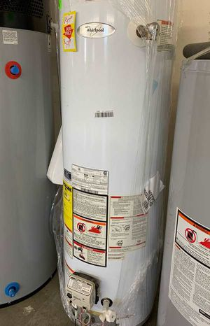 New Whirlpool 40 Gallon water heater! Z99Q for Sale in Fort Worth, TX